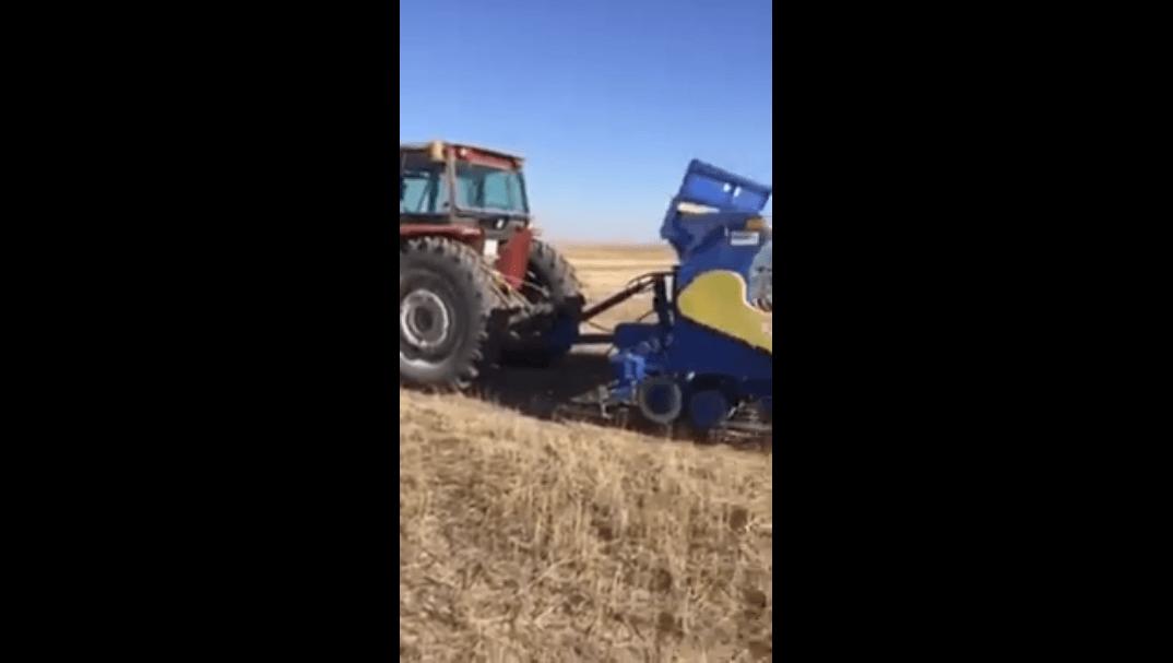 Toprak İşlemesiz Hububat Ekimi Tanıtımı